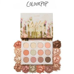COLOURPOP | NWT Wild Nothing Palette